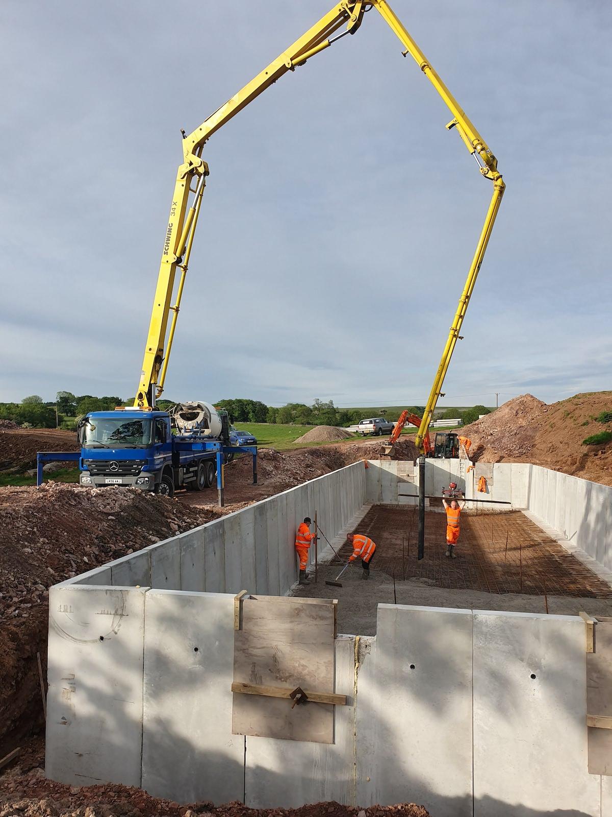 Ian Parker Concrete Pumping